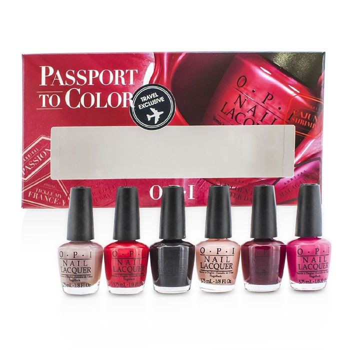 O.P.I New Zealand - Passport To Colors Mini Set by O.P.I | Fresh™