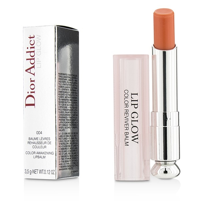 b0c8368746611 Christian Dior Dior Addict Lip Glow Color Awakening Lip Balm SPF 10 -  004  Coral. Loading zoom