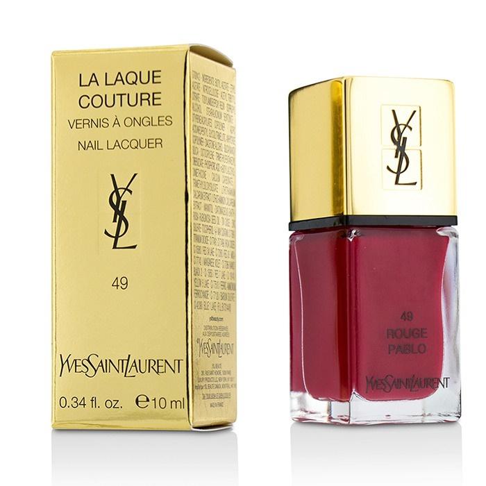 La Laque Couture Nail Lacquer - # 49 Rouge Pablo