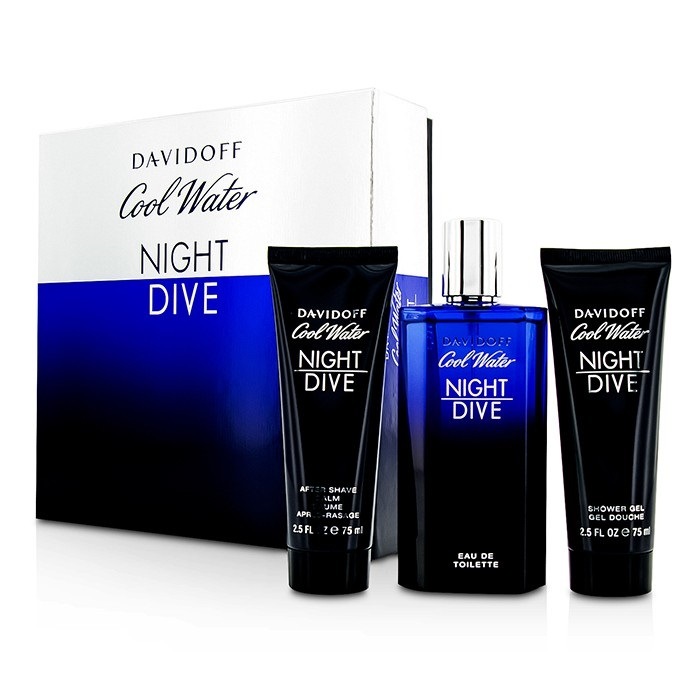 Davidoff cool water night dive coffret edt spray 125ml 4 - Davidoff night dive ...