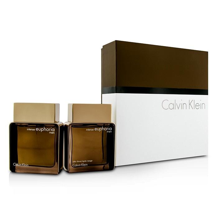 Euphoria Intense Coffret: EDT Spray 100ml/3.4oz + After Shave 100ml/3.4oz - Calvin Klein | F&C Co. USA
