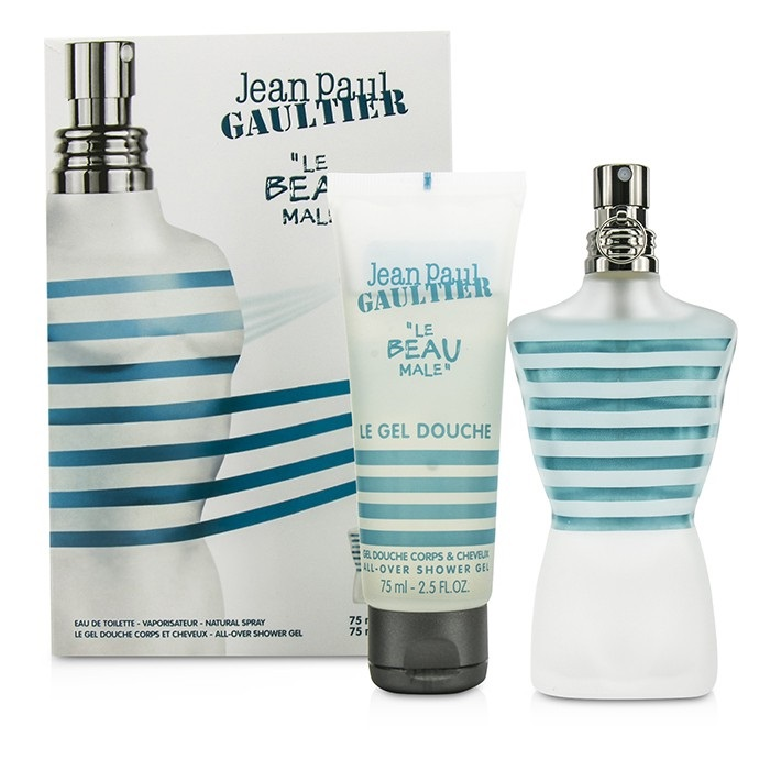 Jean paul gaultier le beau male coffret edt spray 75ml 2 - Coffret le male jean paul gaultier ...