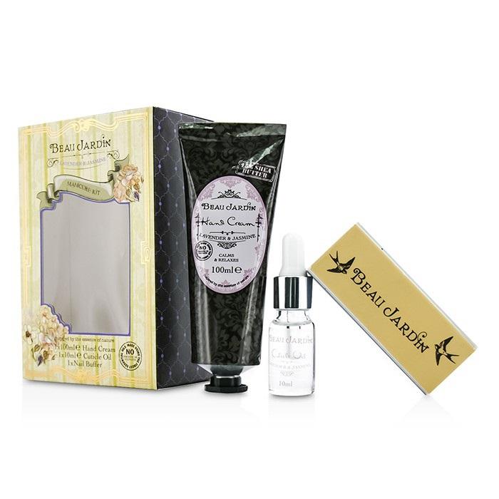 Heathcote ivory beau jardin lavender jasmine manicure for Beau jardin hand cream