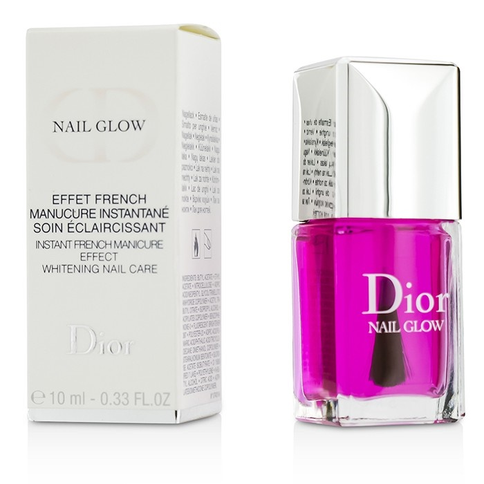"Dior ""Nail Glow"" Instant French Manicure Effect Whitening Nail Care"