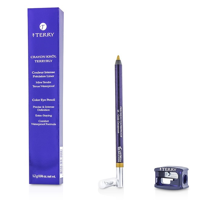 by terry crayon khol terrybly color eye pencil waterproof formula 15 gold ornamenet fresh. Black Bedroom Furniture Sets. Home Design Ideas
