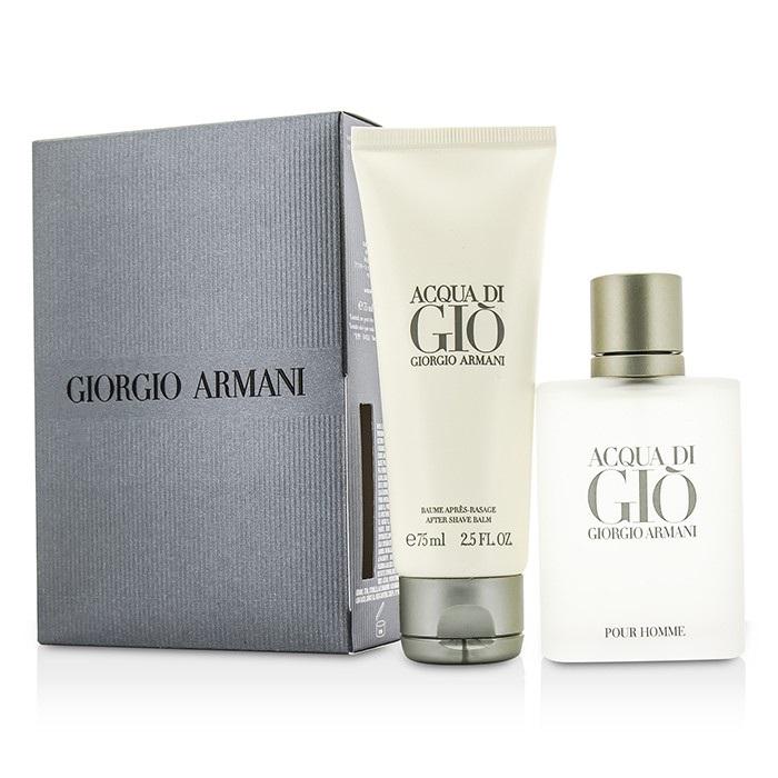 f4103f40170d Giorgio Armani Acqua Di Gio Coffret  EDT Spray 50ml 1.7oz + After Shave.  Loading zoom