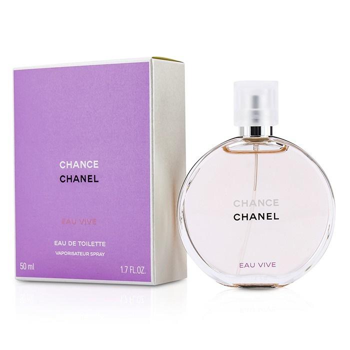 Chanel Chance Eau Vive Edt Spray 50ml Womens Perfume 3145891265507