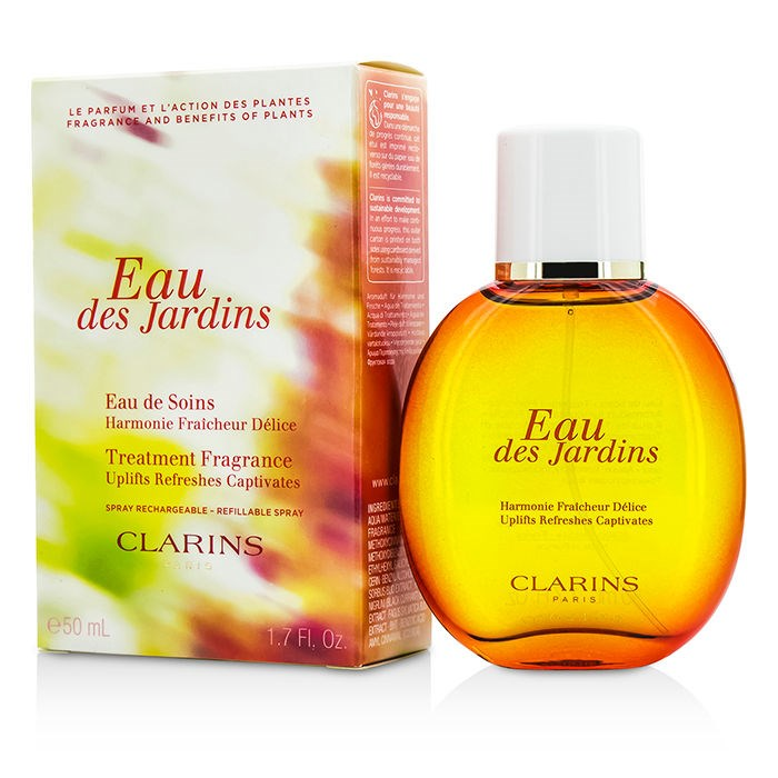 clarins eau des jardins spray fresh. Black Bedroom Furniture Sets. Home Design Ideas