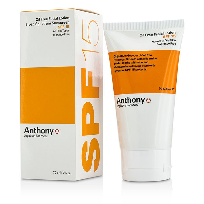Anthony logistics oil free facial lotion lest