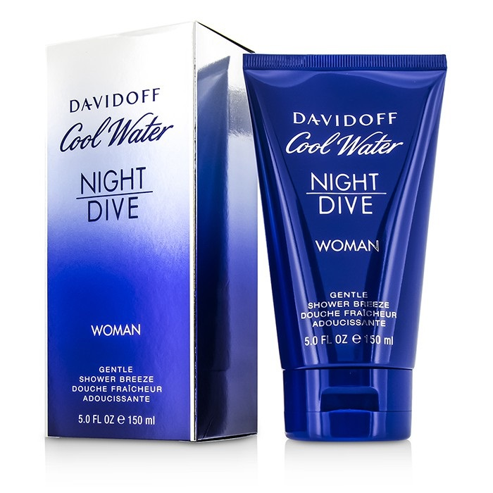 Davidoff cool water night dive gentle shower breeze fresh - Davidoff night dive ...