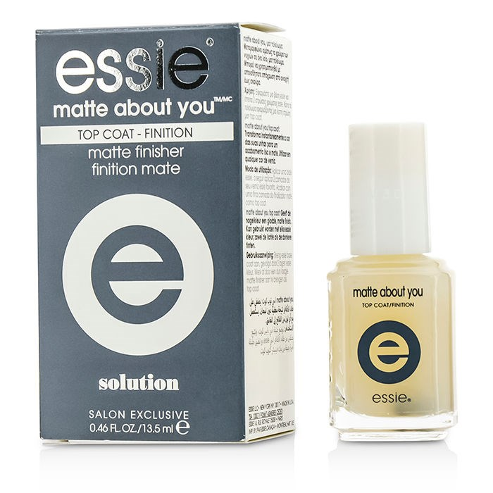 Essie Matte About You Top Coat (Matte Finisher) | Fresh™