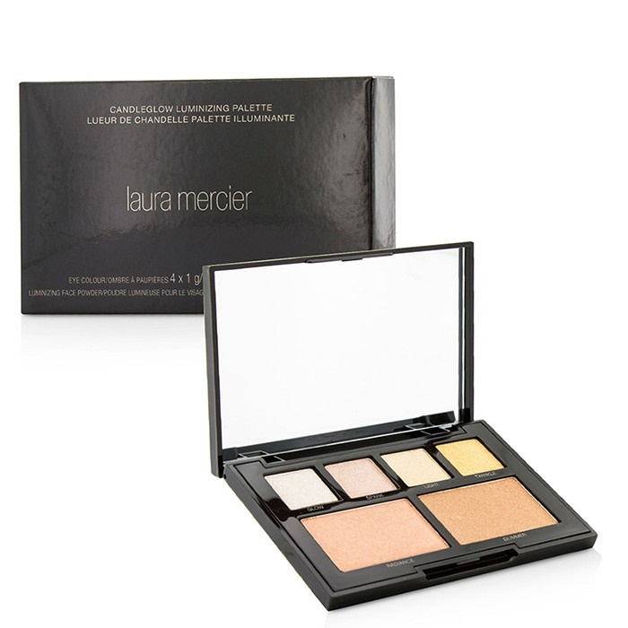 Laura Mercier Scented Candle: Candleglow Luminizing Palette (4x Eye Colour, 2x