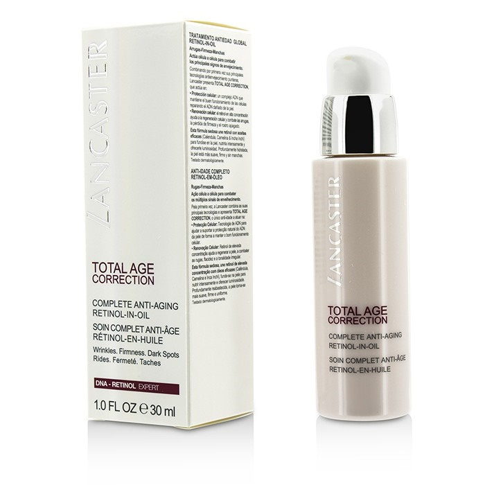 Lancaster Total Age Correction Complete Anti Aging Retinol In Oil Skincare