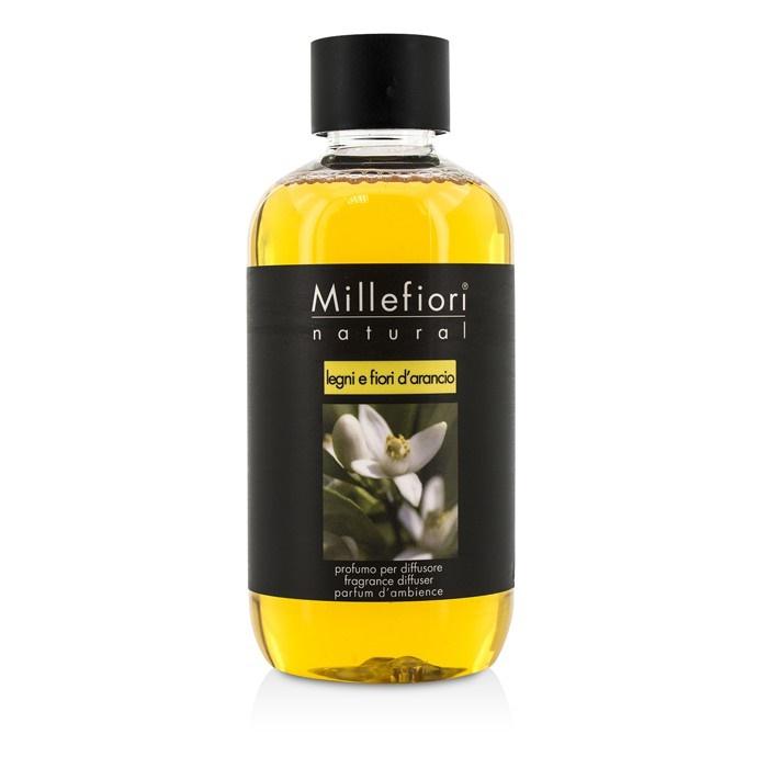 Eden Perfume Refill: Millefiori Natural Fragrance Diffuser Refill - Legni E Fiori D'Arancio