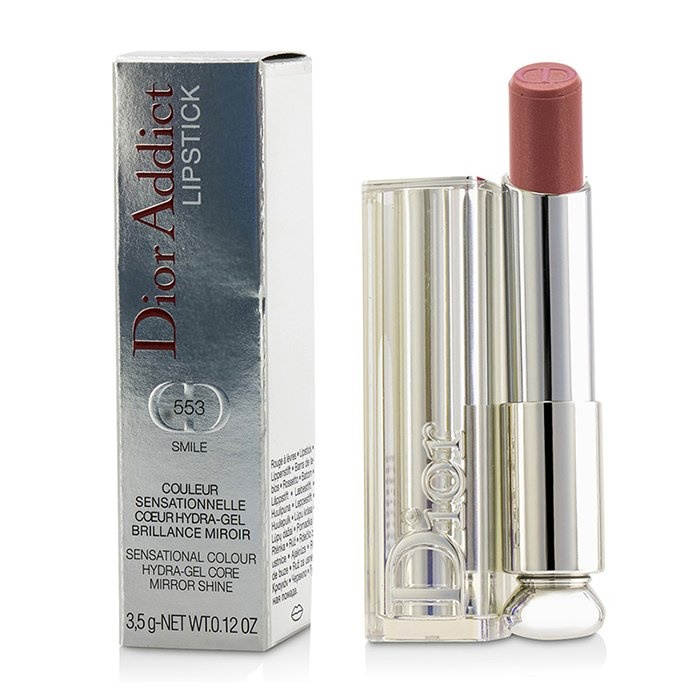 05a18c36352 Christian Dior Dior Addict Hydra Gel Core Mirror Shine Lipstick -  553 Smile.  Loading zoom