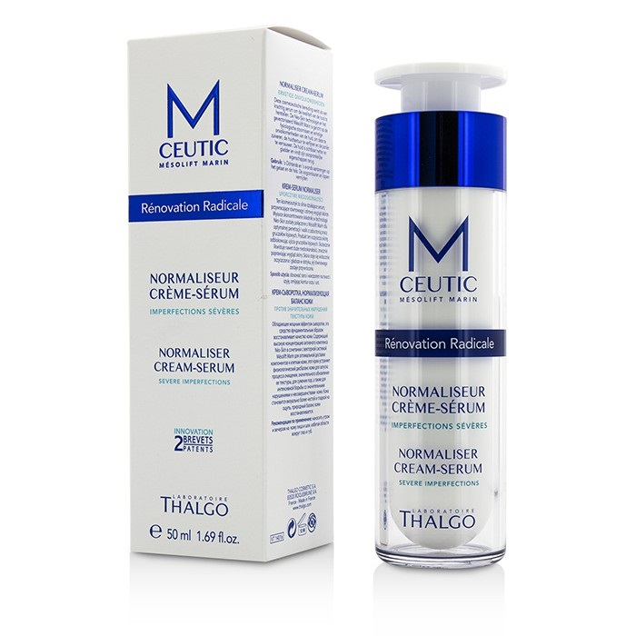 thalgo mceutic normalizer cream serum fresh. Black Bedroom Furniture Sets. Home Design Ideas