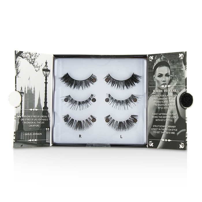 6a41fe209e7 Eylure The London Edit False Lashes Multipack - # 121, # 117, # 154.  Loading zoom