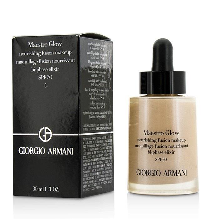 Giorgio Armani Maestro Glow Nourishing Fusion Makeup 0