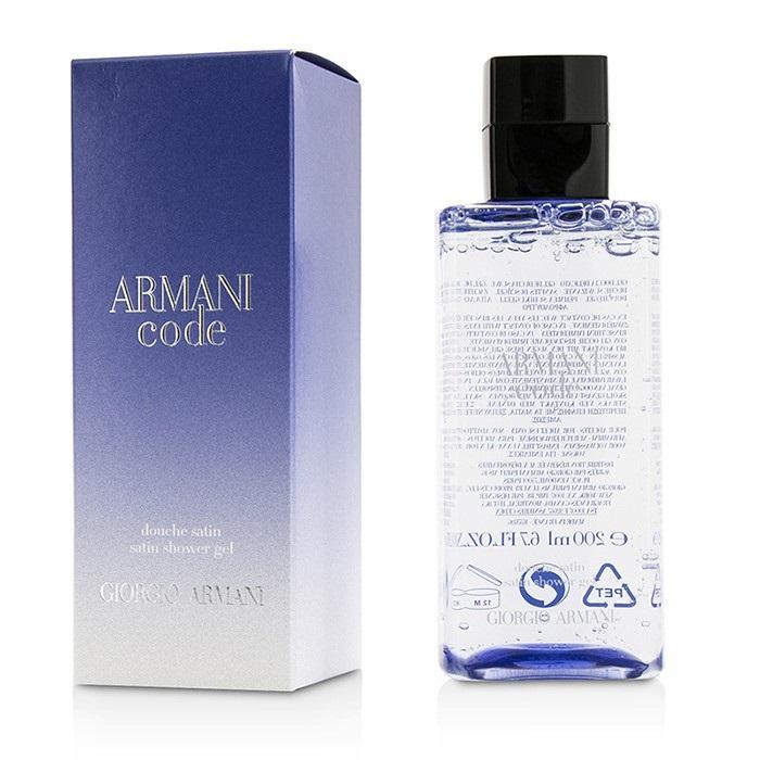 code femme satin shower gel giorgio armani f c co usa. Black Bedroom Furniture Sets. Home Design Ideas