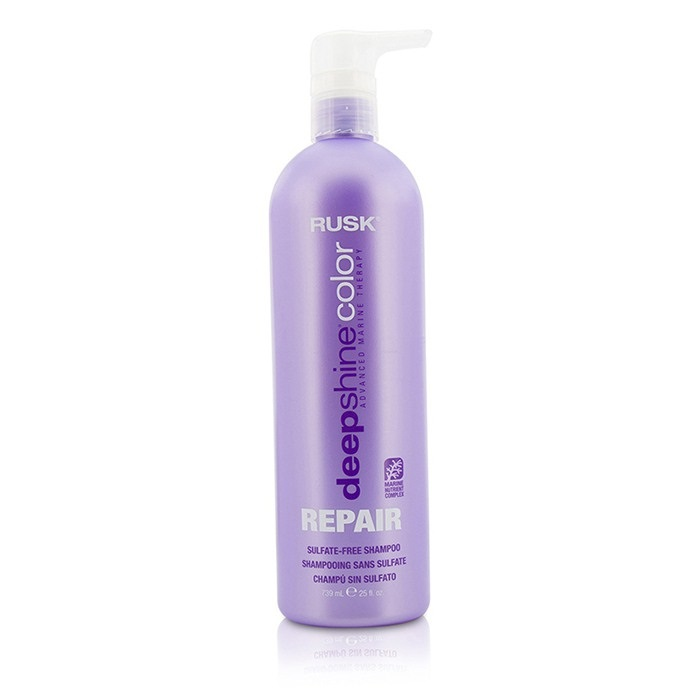 Deepshine Color Repair Sulfate Free Shampoo Rusk Fc Co Usa