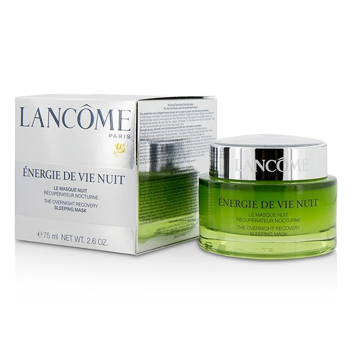 lancome energie de vie overnight recovery sleeping mask for all skin types even sensitive. Black Bedroom Furniture Sets. Home Design Ideas