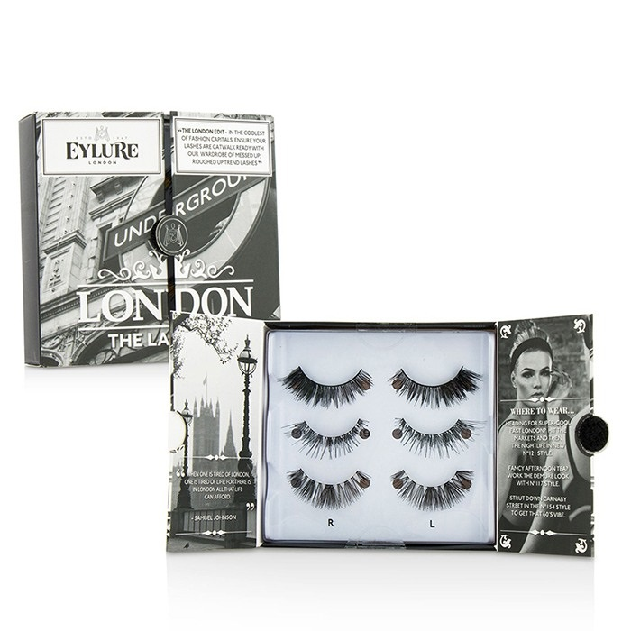 b8c0034c5c1 Eylure The London Edit False Lashes Multipack Duo Pack - # 121, # 117,.  Loading zoom