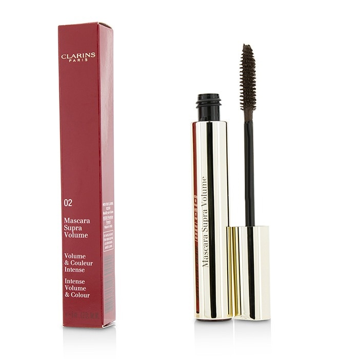 5d187b14fc9 Clarins New Zealand - Supra Volume Mascara - # 02 Intense Brown by ...