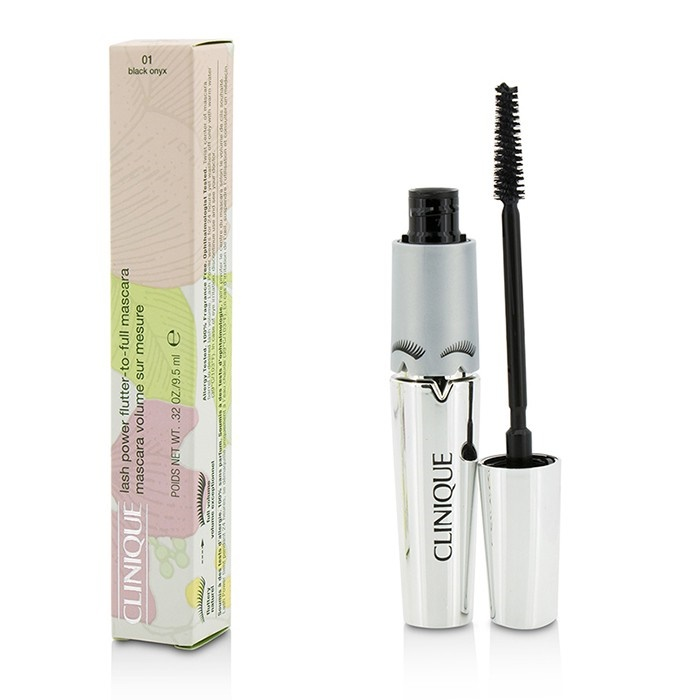 Clinique Lash Power Flutter To Full Mascara - #01 Black Onyx Makeup