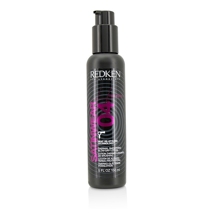 hair products for heat styling redken heat styling satinwear 04 thermal smoothing 3653