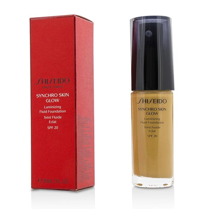 shiseido new zealand synchro skin glow luminizing fluid. Black Bedroom Furniture Sets. Home Design Ideas