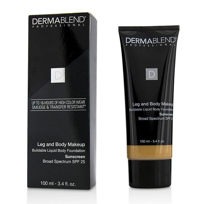 655b7e470 Dermablend Leg and Body Makeup Buildable Liquid Body Foundation Sunscreen  Broad Spectrum SPF 25 - #. Loading zoom