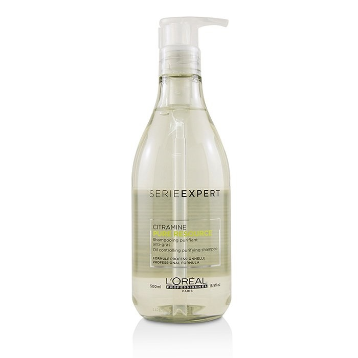 4f4bd853a L'Oreal Professionnel Serie Expert - Pure Resource Citramine Oil  Controlling Purifying Shampoo. Loading zoom