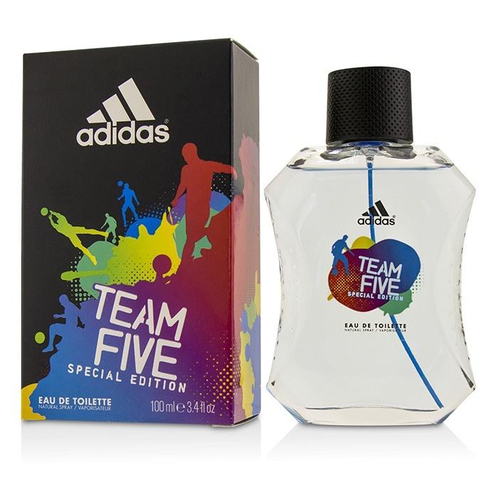 Detalles de Adidas Equipo cinco EDT Spray (Edición especial) 100ml para Hombre Perfume ver título original