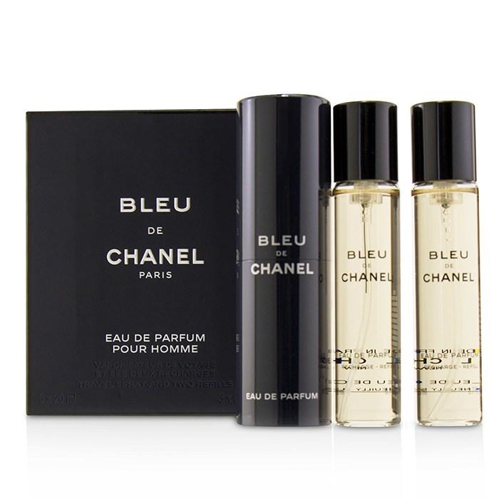 e6f4a8ff2 Chanel Bleu De Chanel EDP Refillable Travel Spray 3x20ml Men's ...