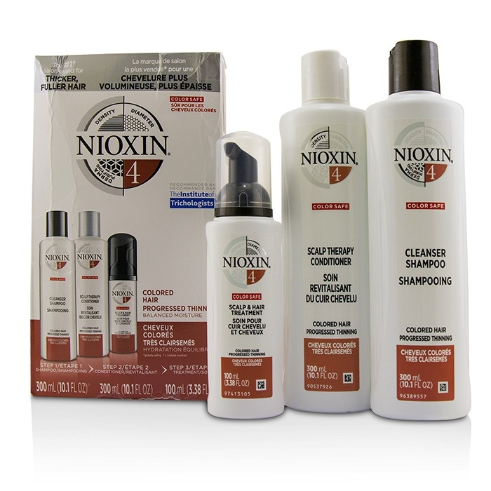 3d Care System Kit 4 For Colored Hair Progressed Thinning