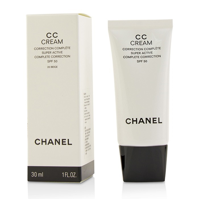 15df3a6a149b0 Chanel CC Cream Super Active Complete Correction SPF 50   20 Beige. Loading  zoom