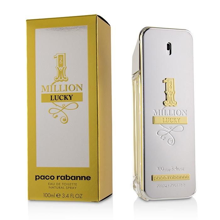 Detalles de Paco Rabanne un millón de suerte Edt Spray 100ml para Hombre Perfume ver título original