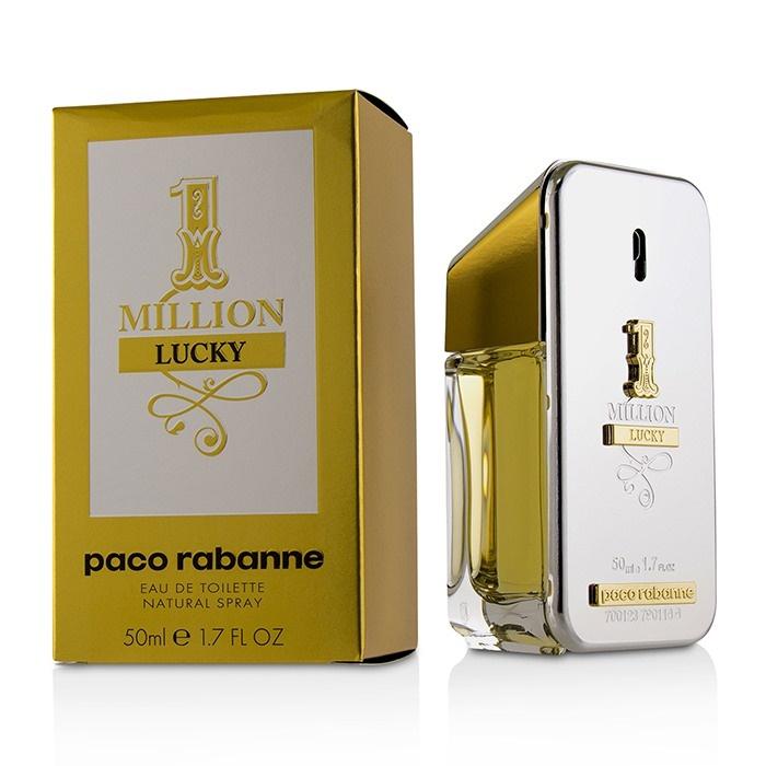 Detalles de Paco Rabanne un millón de suerte Edt Spray 50 Ml Para Hombre Perfume ver título original