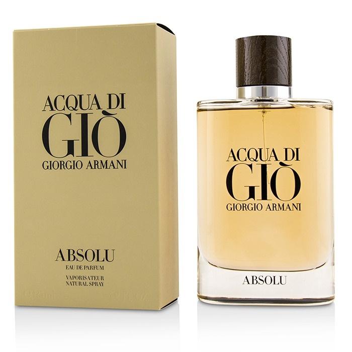 About Giorgio Armani Edp Men's Absolu Spray Di Gio Details Acqua 125ml Perfume bfy76gIYvm