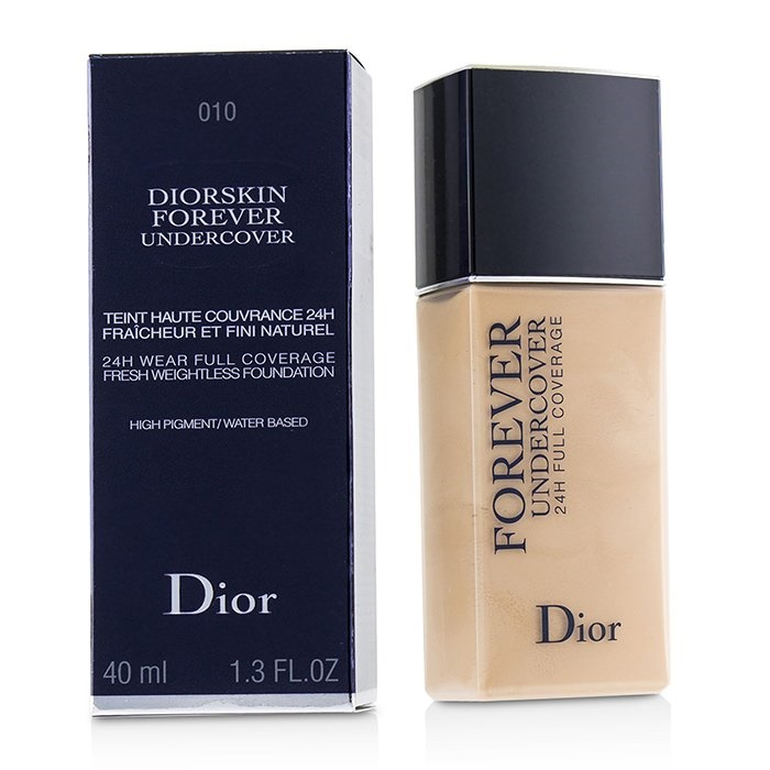 59acb5a5ef Christian Dior Diorskin Forever Undercover 24H Wear Full Coverage Water  Based Foundation - # 010 Ivory Makeup