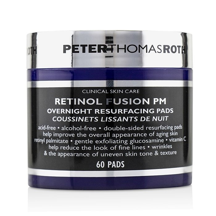 Peter Thomas Roth Retinol Fusion PM Overnight Resurfacing Pads Skincare
