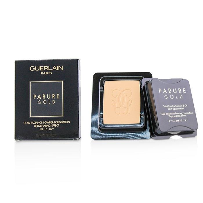 amazon presa di fabbrica vari tipi di Guerlain Parure Gold Rejuvenating Gold Radiance Powder Foundation SPF 15  Refill - # 03 Beige Naturel Makeup