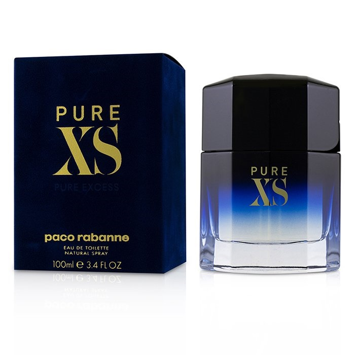Dettagli su Paco Rabanne Pure XS EDT Spray 100ml Men's Perfume