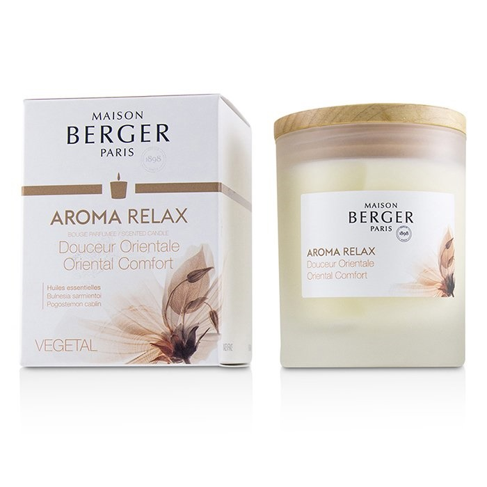 CablinHome Candle Lampe Relaxpogostemon Berger Scent Aroma Scented 3AL5j4R