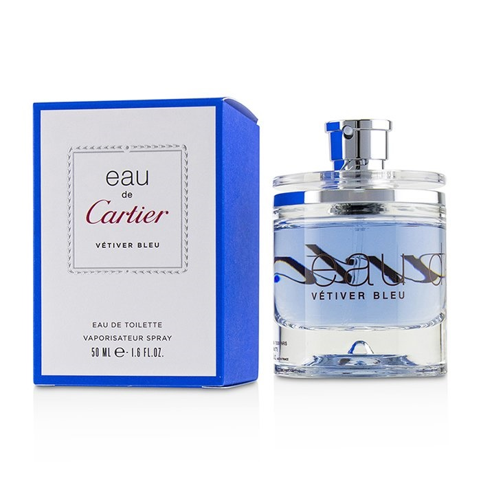 f3f82de35f8 Cartier Eau De Cartier Vetiver Bleu EDT Spray 50ml Men s Perfume ...