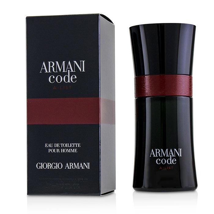 ce3b49086fa Giorgio Armani Armani Code A-List EDT Spray 50ml Men s Perfume ...
