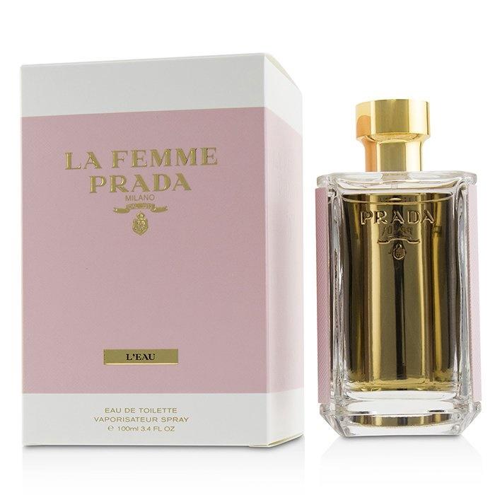 La Edt Details 100ml Femme Spray Women's Prada About Perfume L'eau j5A34LR