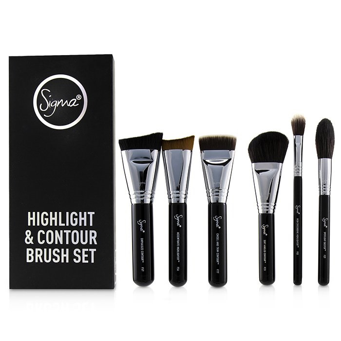 Sigma Beauty Highlight and Contour Brush Set. Loading zoom