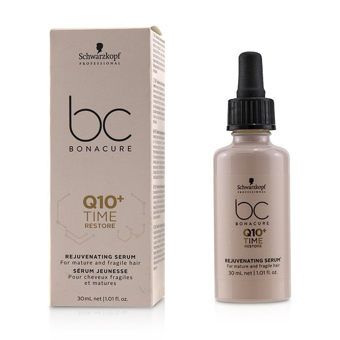 3e4f055fd2 Schwarzkopf BC Bonacure Q10+ Time Restore Rejuvenating Serum (For Mature  and Fragile Hair). Loading zoom